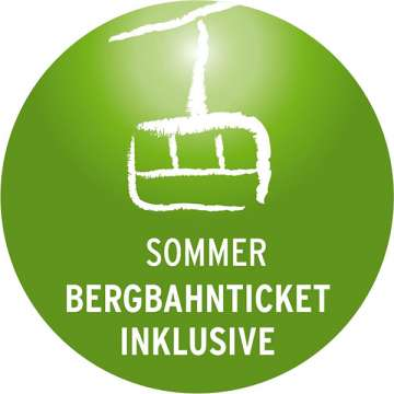 Bergbahntickets inklusive!